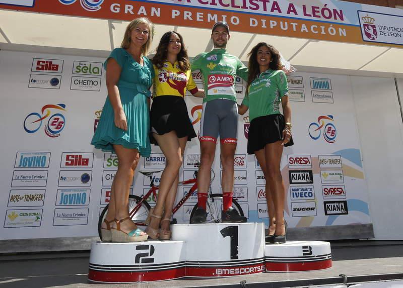 ultima etapa de la vuelta ciclista a leon benavides de orbigo /