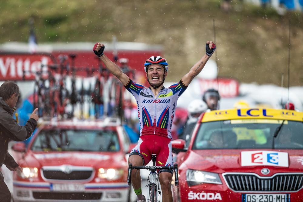 En el Tour 2015 logró dos victorias de etapa. La última de ellas, en Plateau de Beille. © Jim Fryer