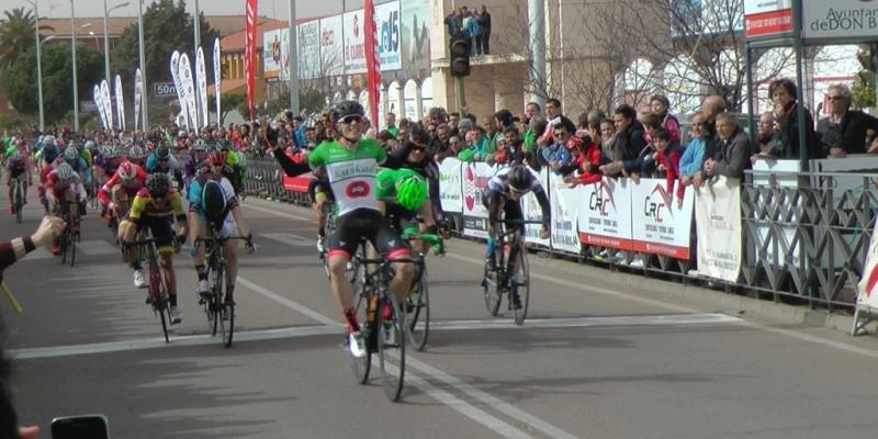 Egoitz vencedor en el Circuito Guadiana (Foto: nuestracomarca.com)