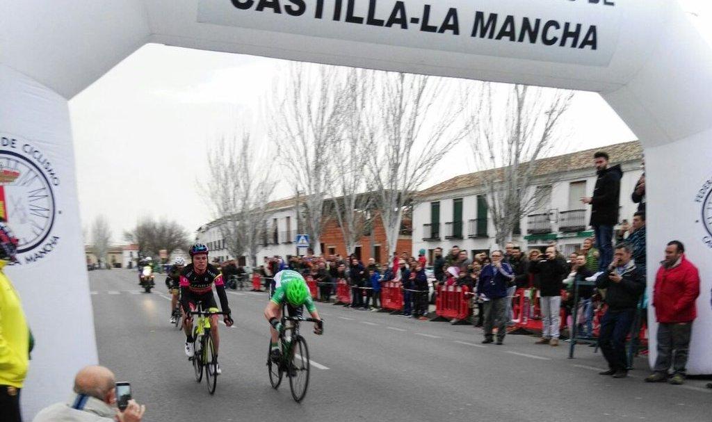 Irisarri no pudo empezar el año mejor, ganando en el Memorial Manuel Sanroma de Almagro (Foto: @PC Lolo Sanroma)