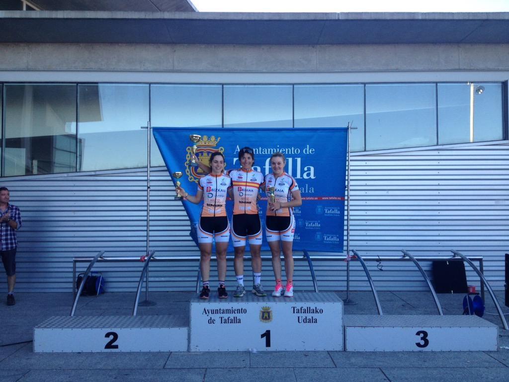 El triplete de Bizkaia-Durango en 2015.