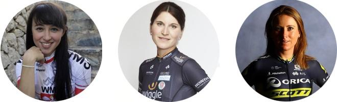 Kasia Niewiadoma | Elisa Longo Borghini | Annemiek van Vleuten