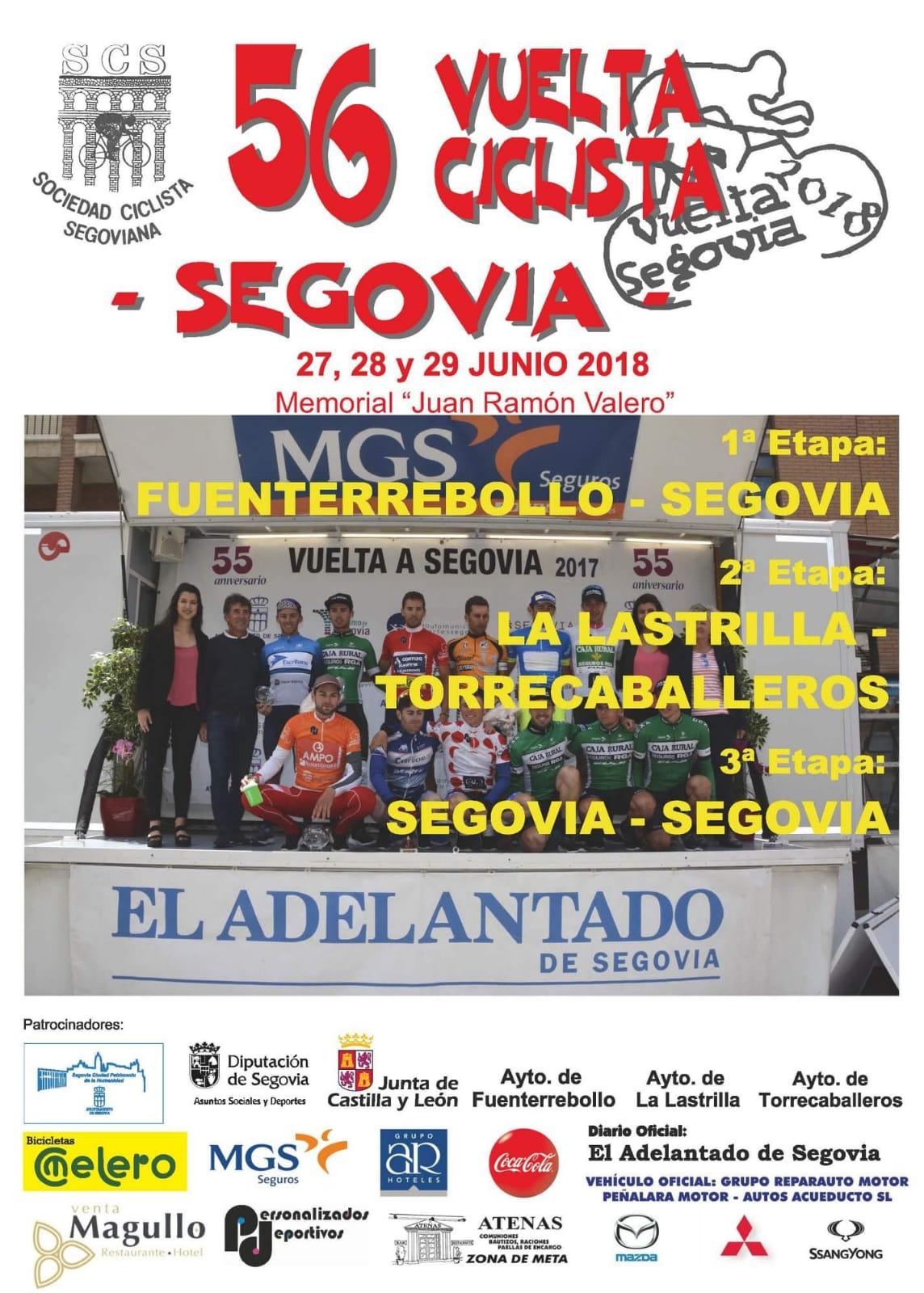 Cartel Vuelta Segovia