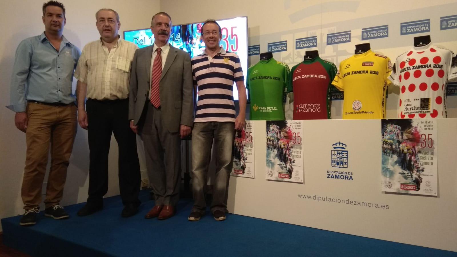 Presentación Vuelta Zamora