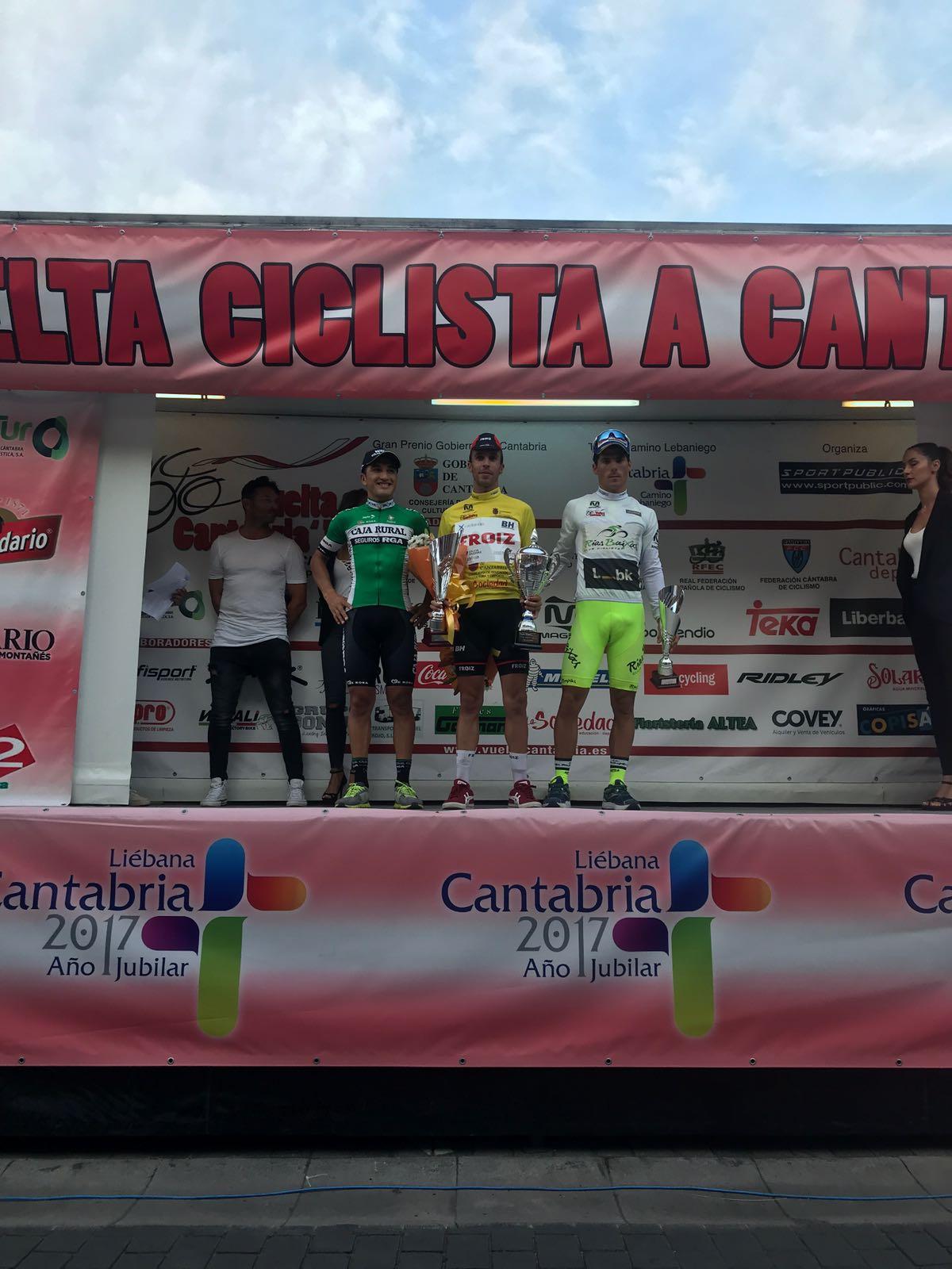 Podium Cantabria