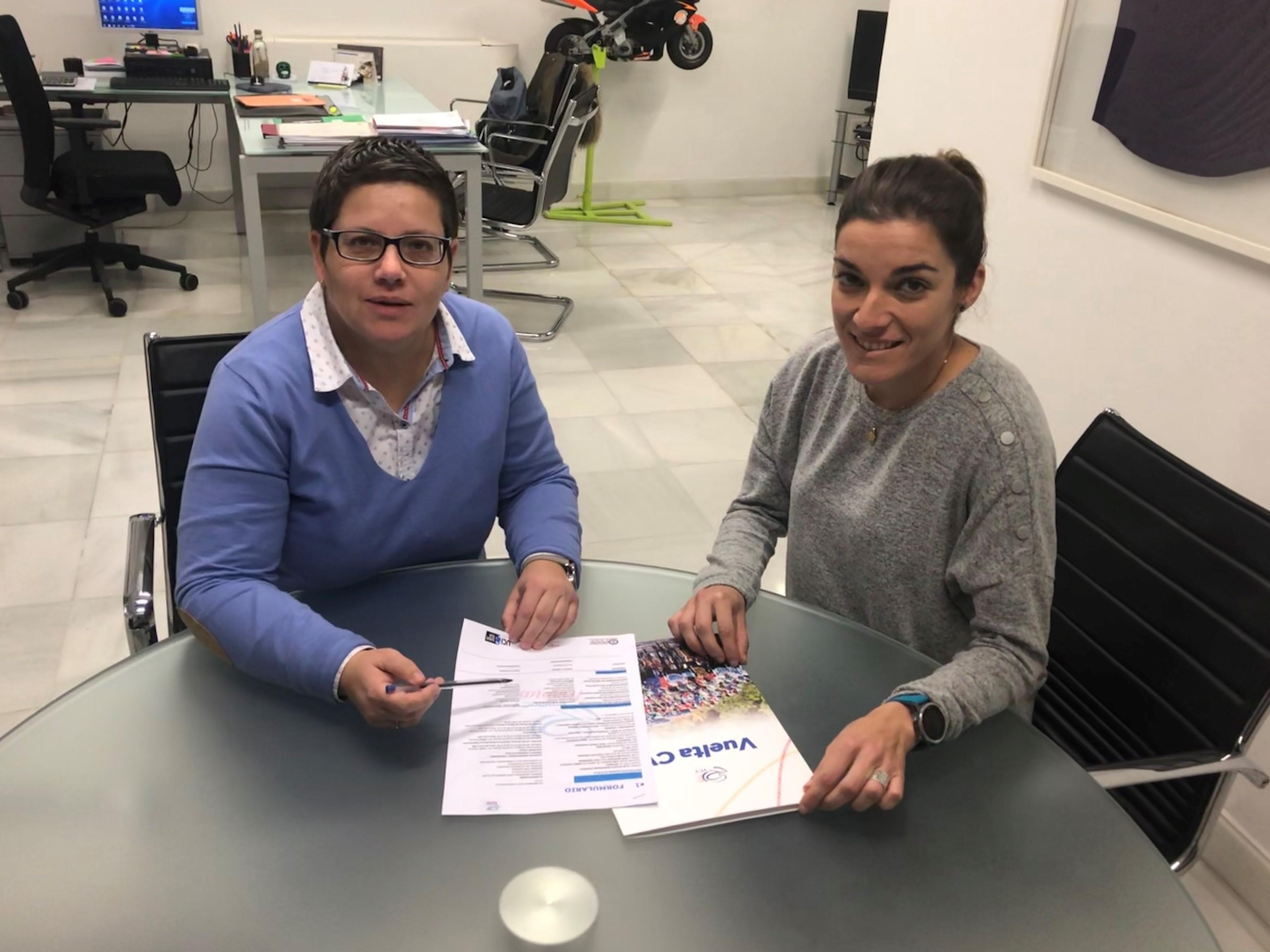 Isabel García y Silvia Tirado