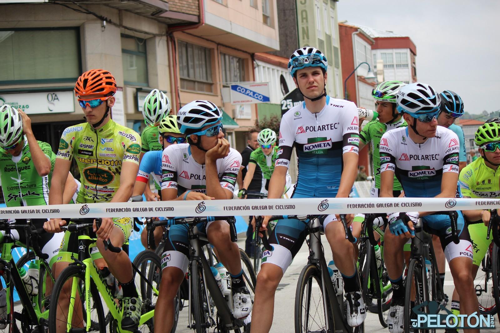 Vuelta Coruña 2018 salida