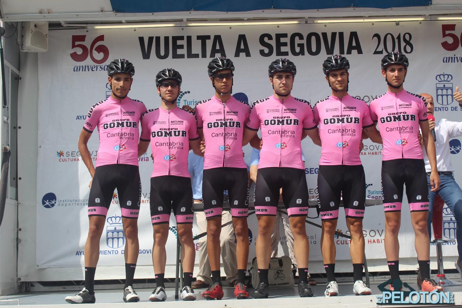 Gomur Cantabria Vuelta Segovia 2018