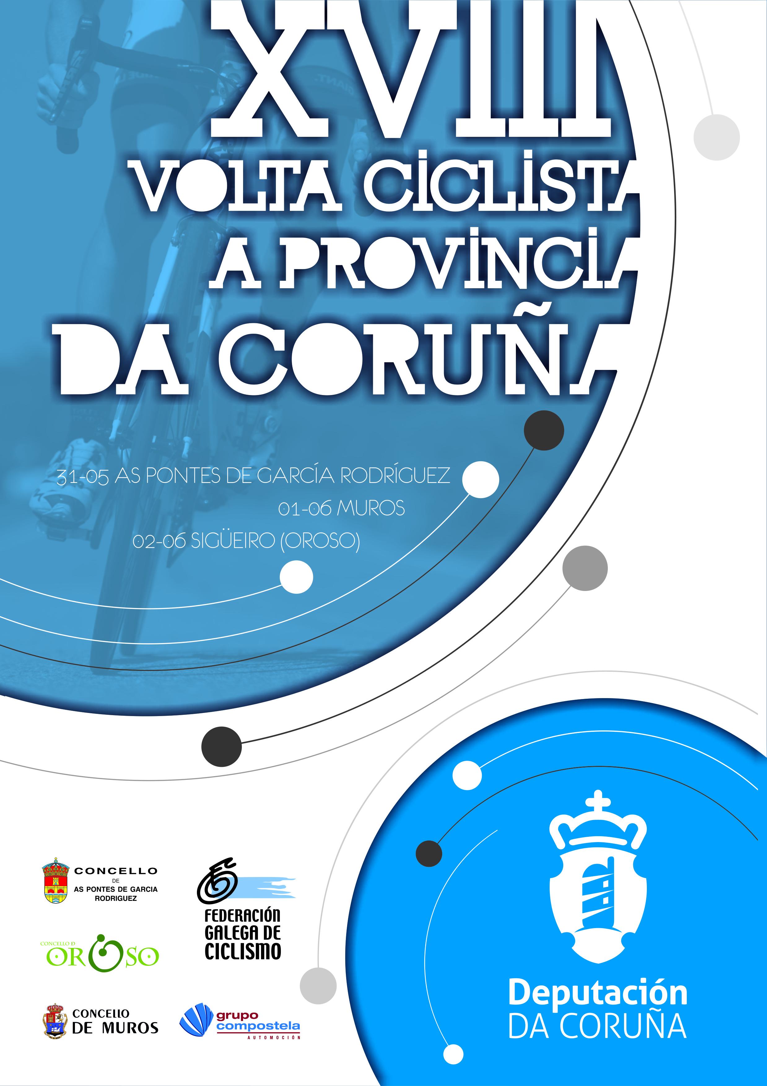 Cartel Volta Coruña 2019