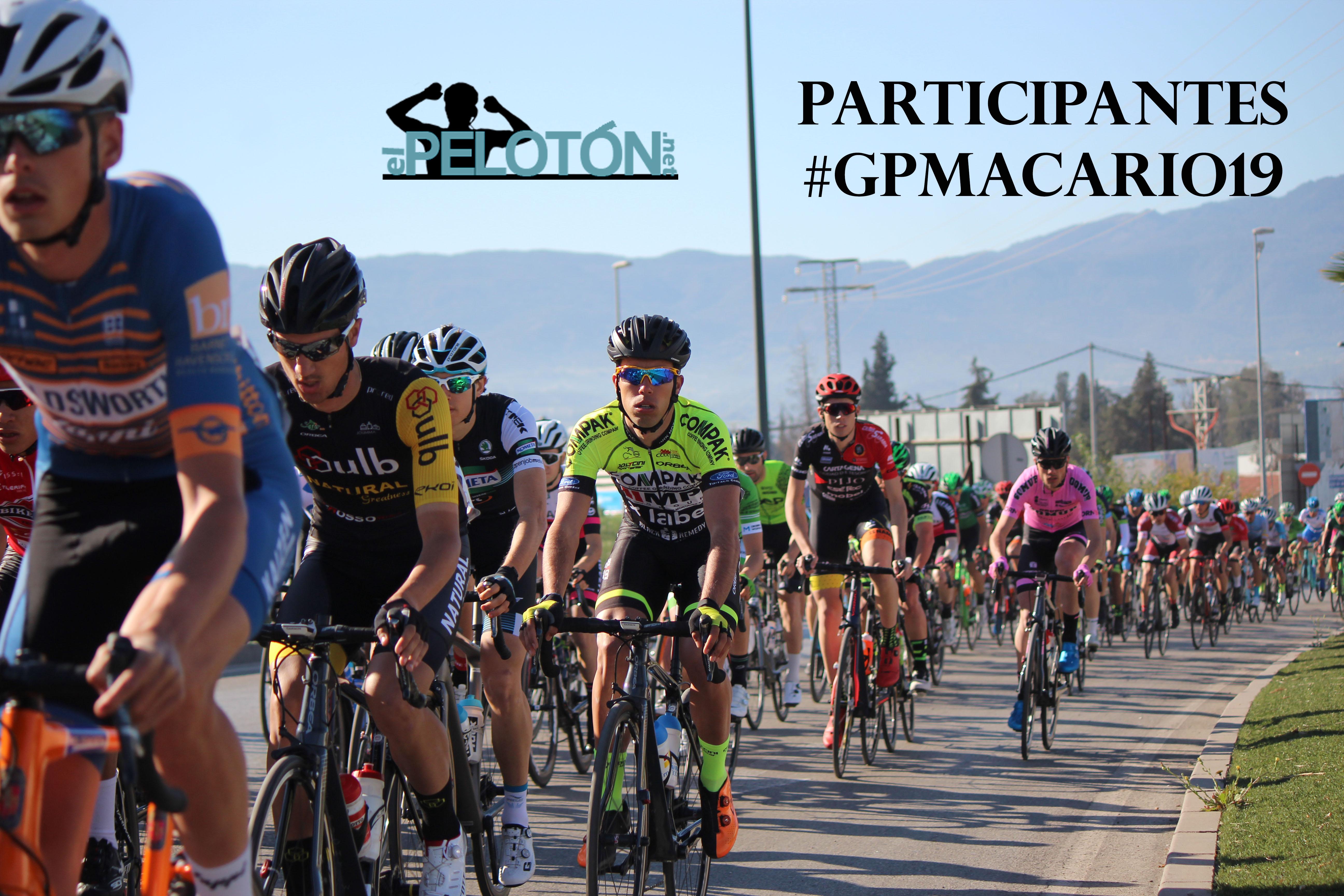 Participantes GP Macario 2019
