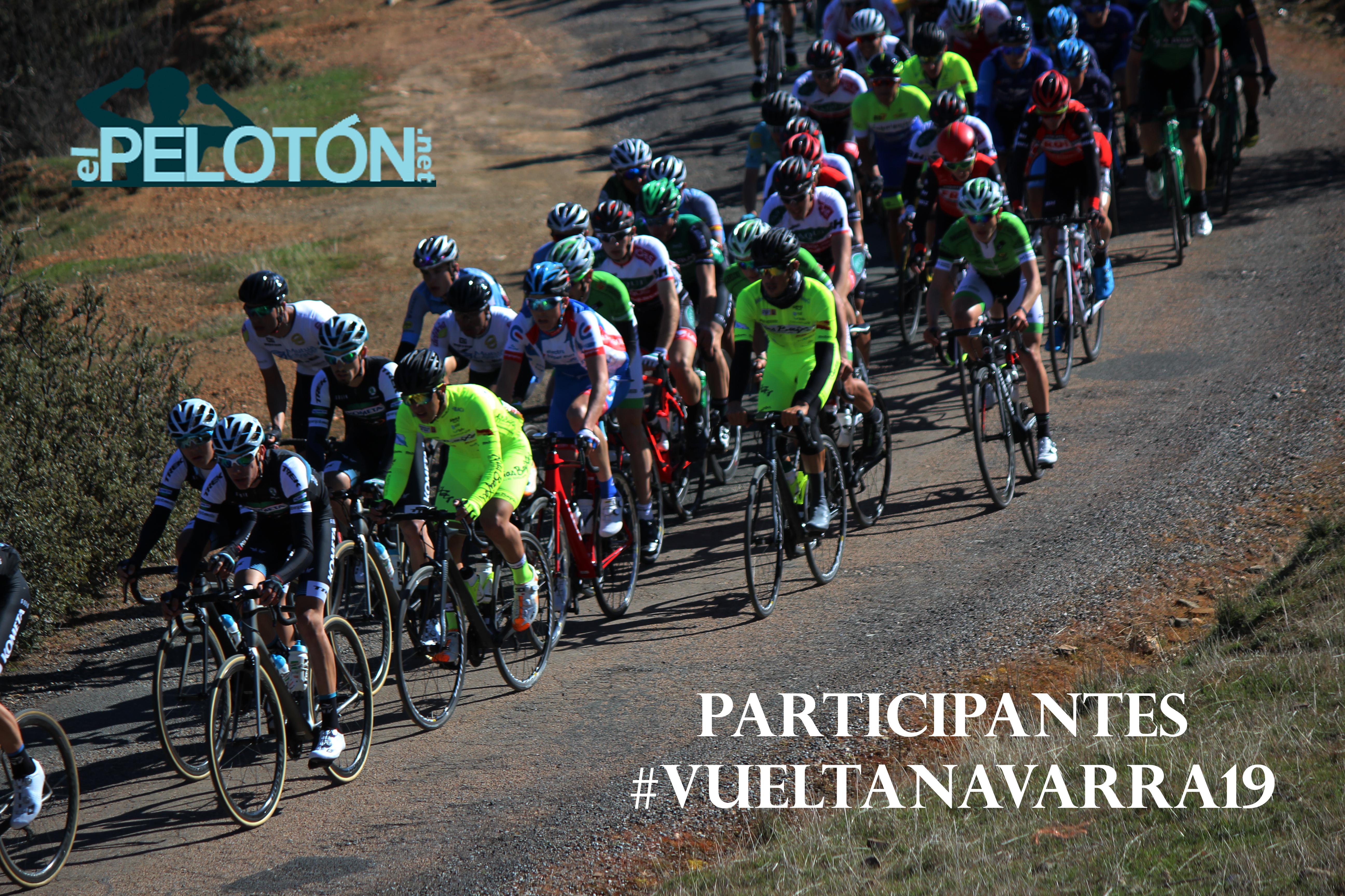Participantes Vuelta Navarra