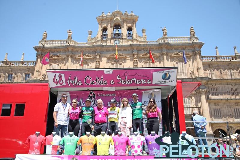 Vuelta Salamanca podium