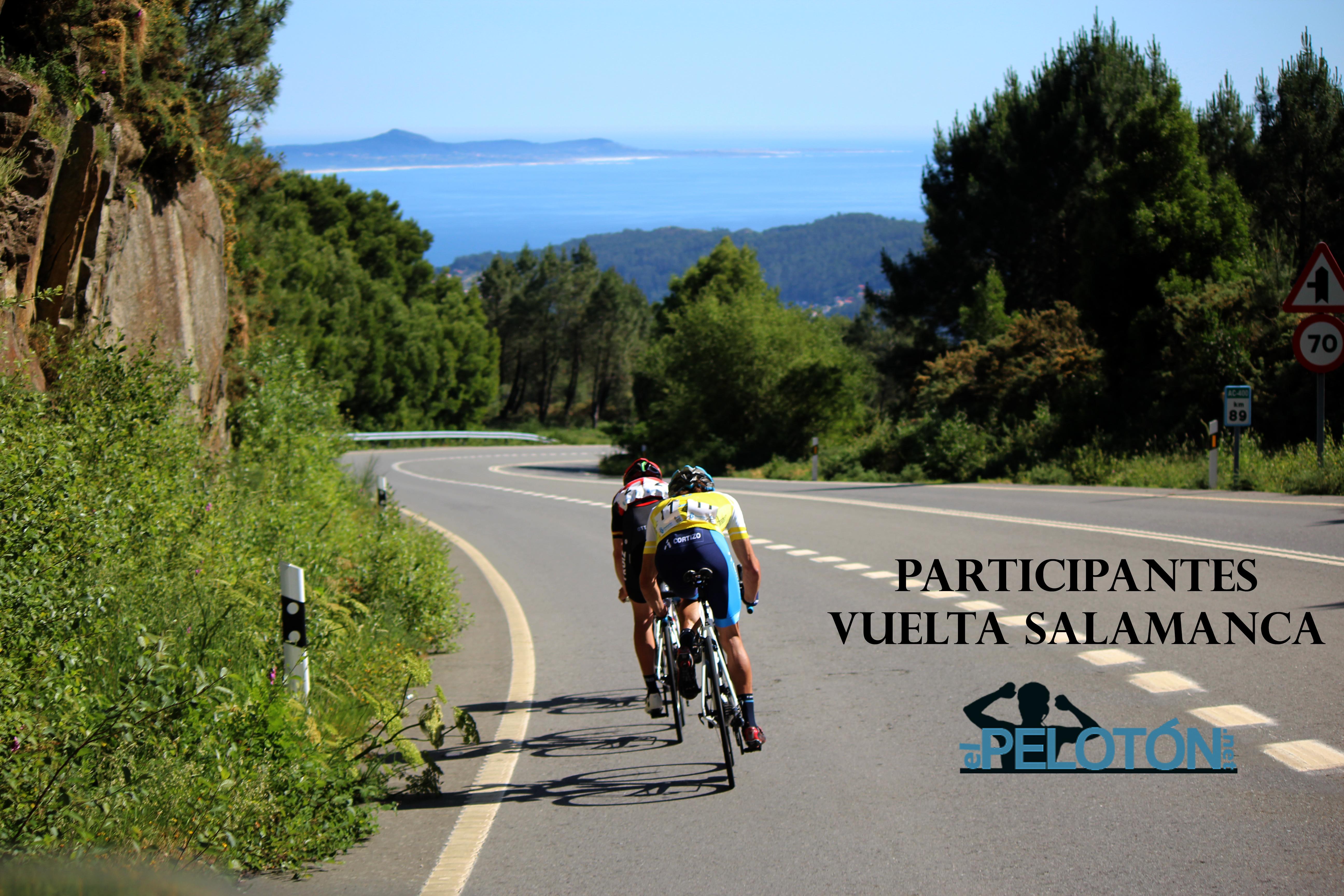 Participantes Vuelta Salamanca