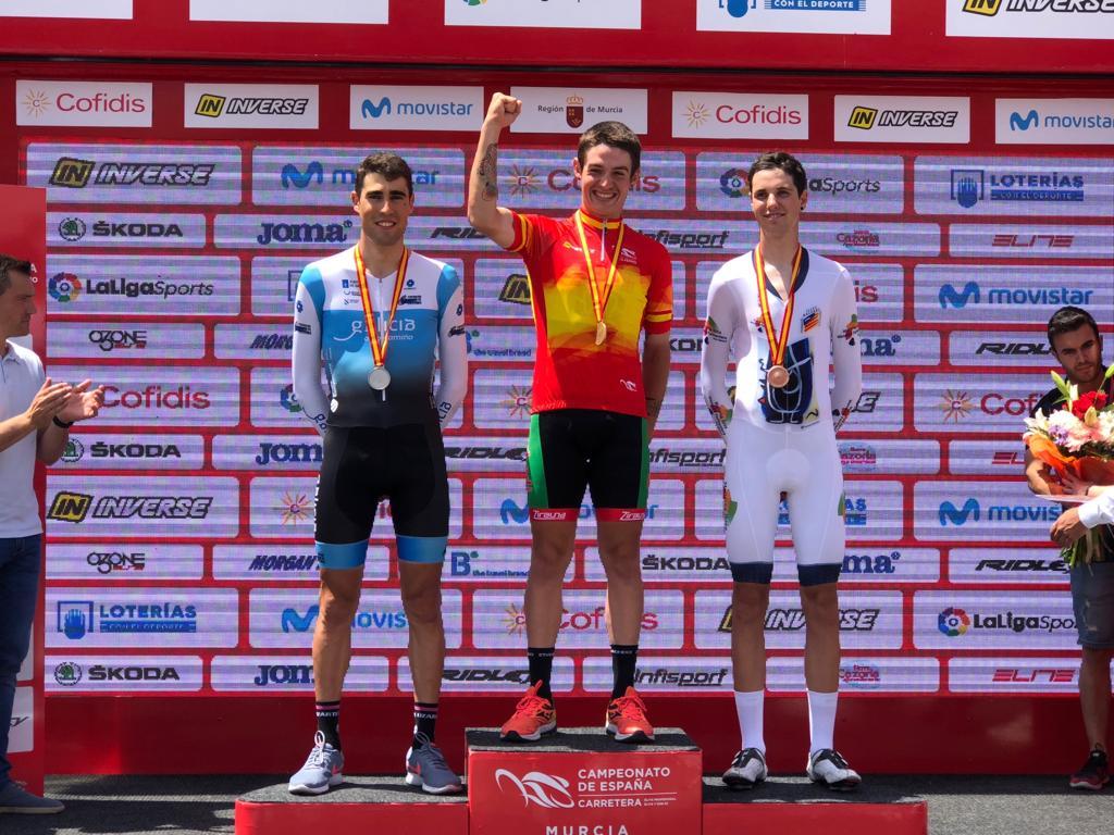 Xabier Azparren Euskadi Campeonato España CRI