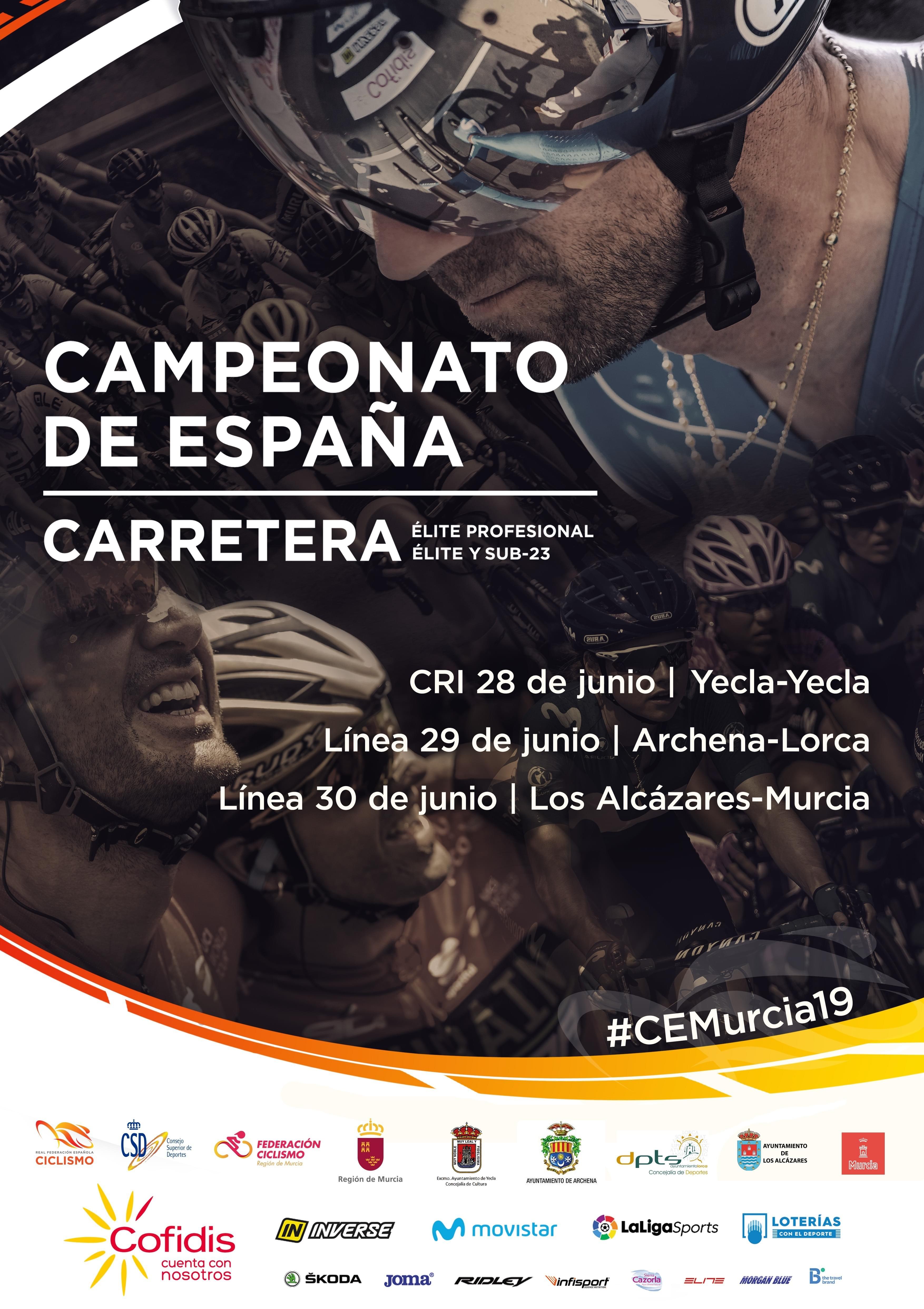 cartel campeonato de españa murcia 2019