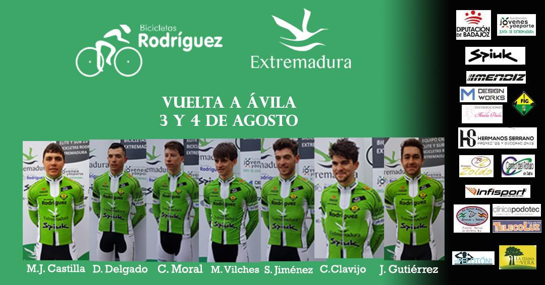 Alineación Ávila Bicicletas Rodríguez-Extremadura