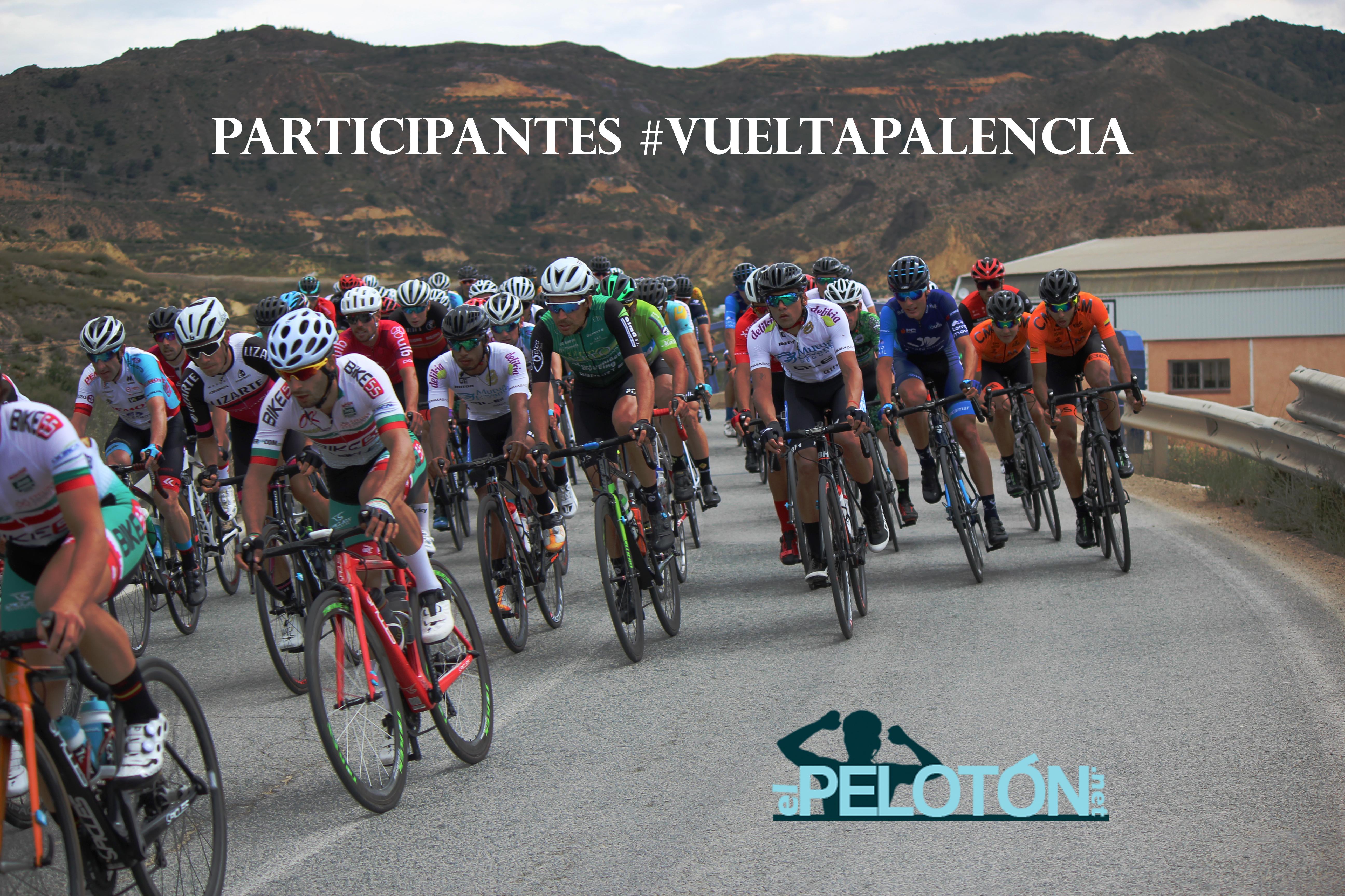 Participantes Vuelta Palencia