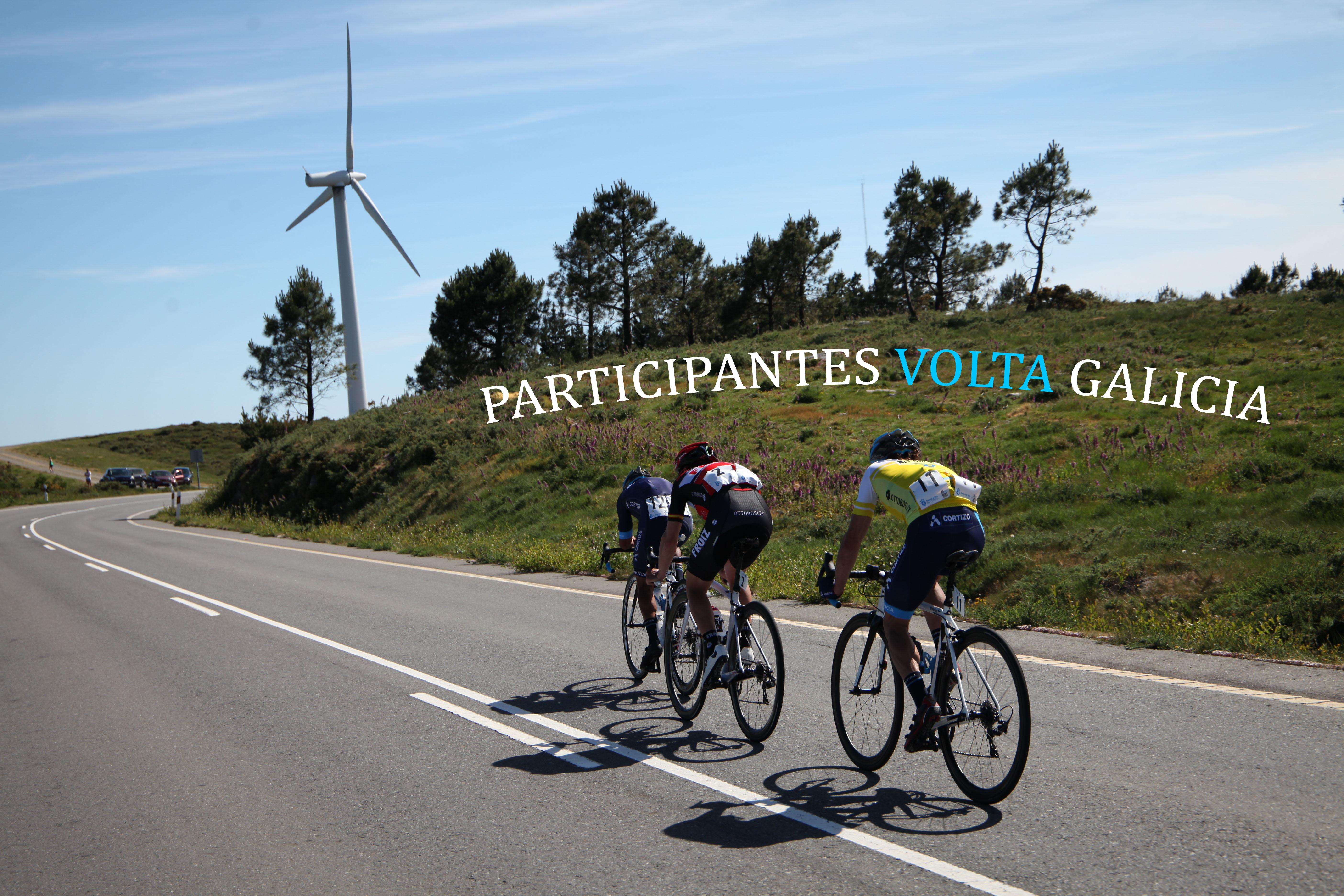 Participantes Alineaciones Volta Galicia