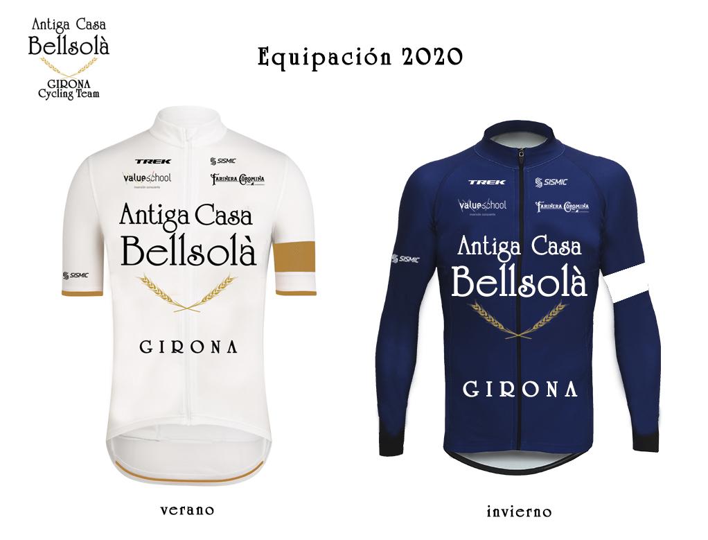 Equipación 2020 Antiga Casa Bellsolà_GIRONA