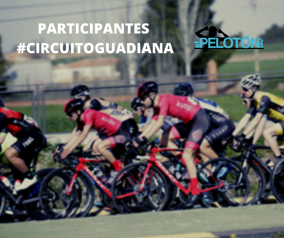 Participantes Circuito Guadiana 2020