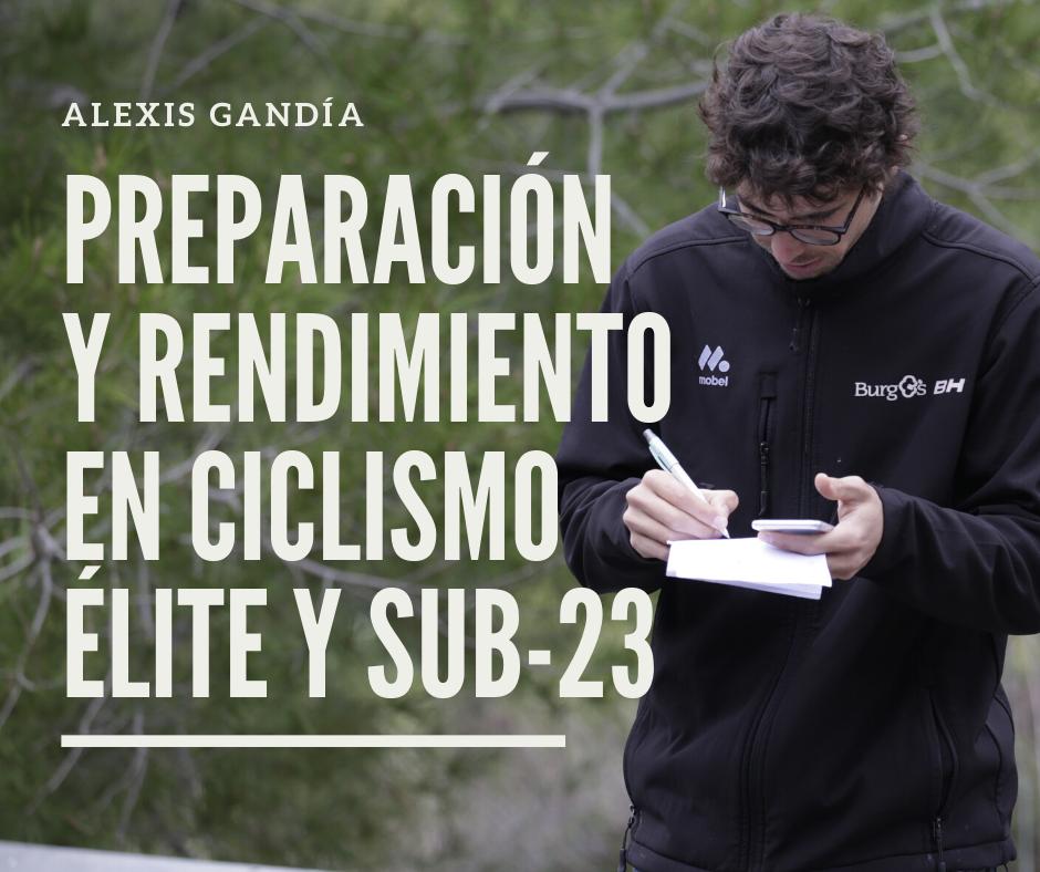 Alexis Gandía Preparación Rendimiento