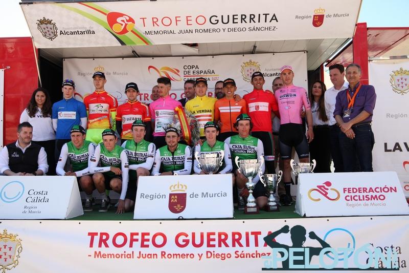 Podium Trofeo Guerrita 2020