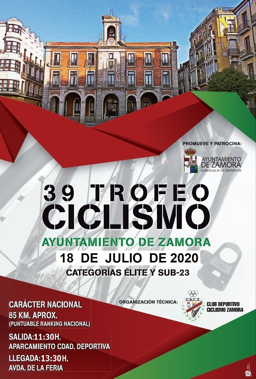 Cartel Trofeo Ayto Zamora