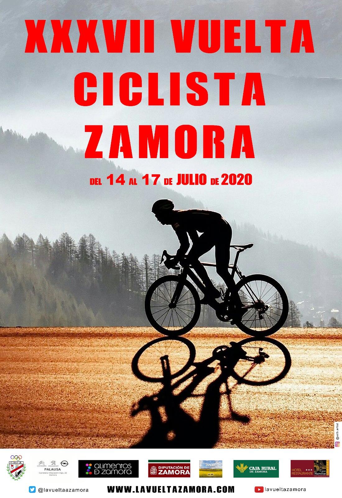 Cartel Vuelta a Zamora 2020