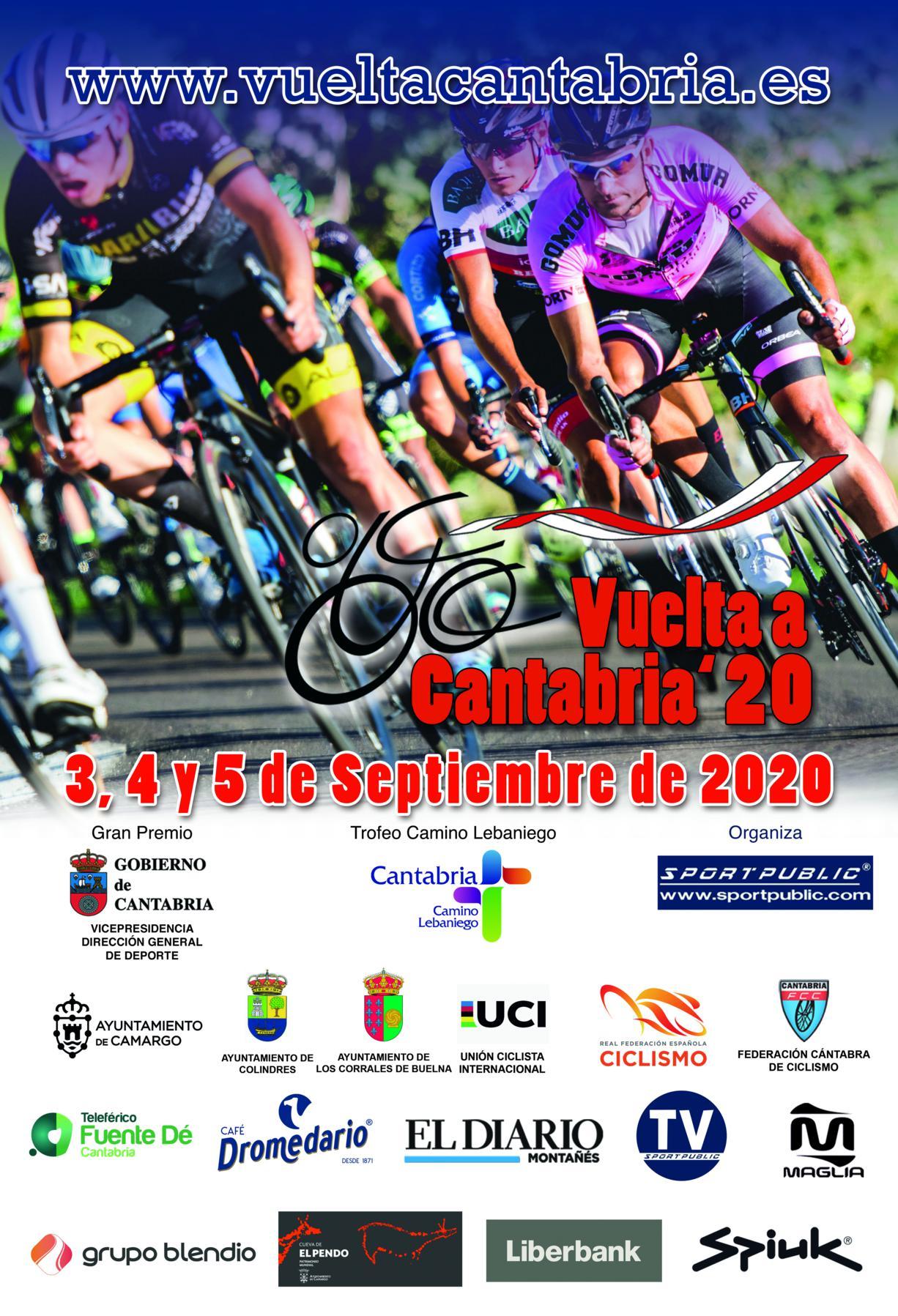 Cartel Vuelta Cantabria