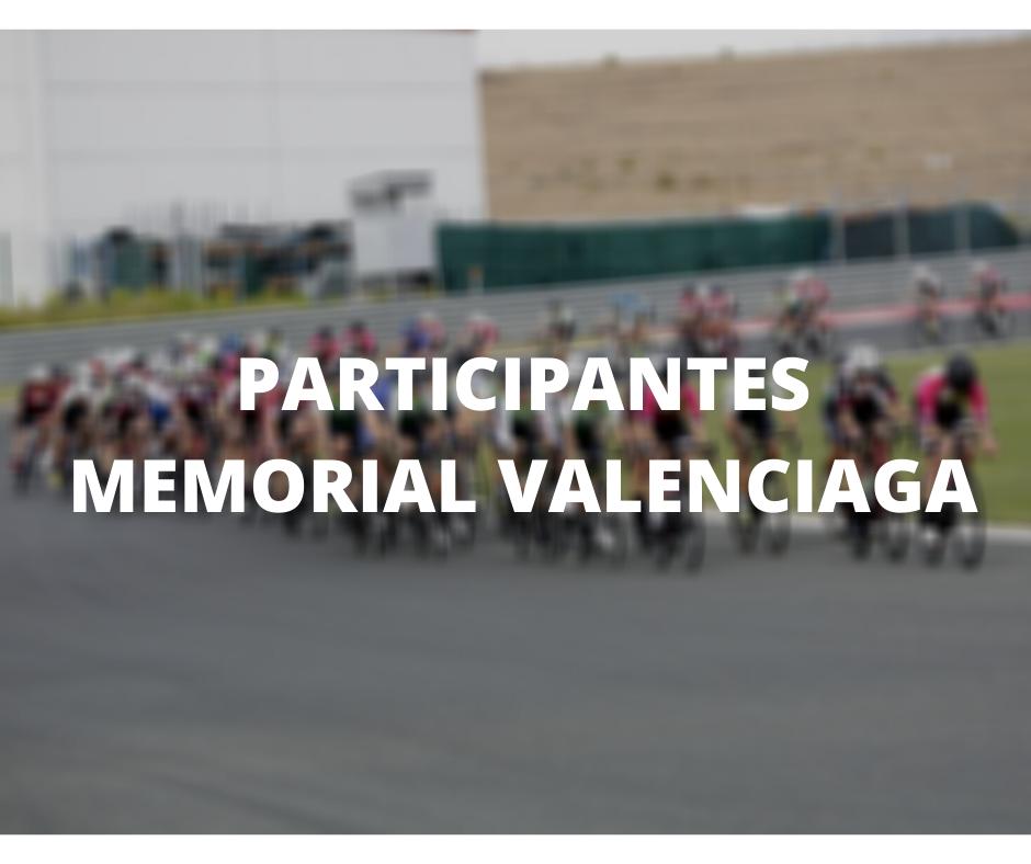 Equipos Participantes Memorial Valenciaga