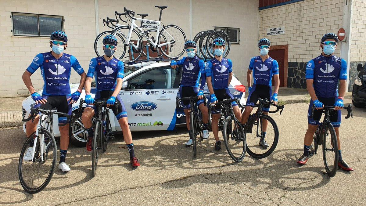 Valverde Team Vuelta al Tajo