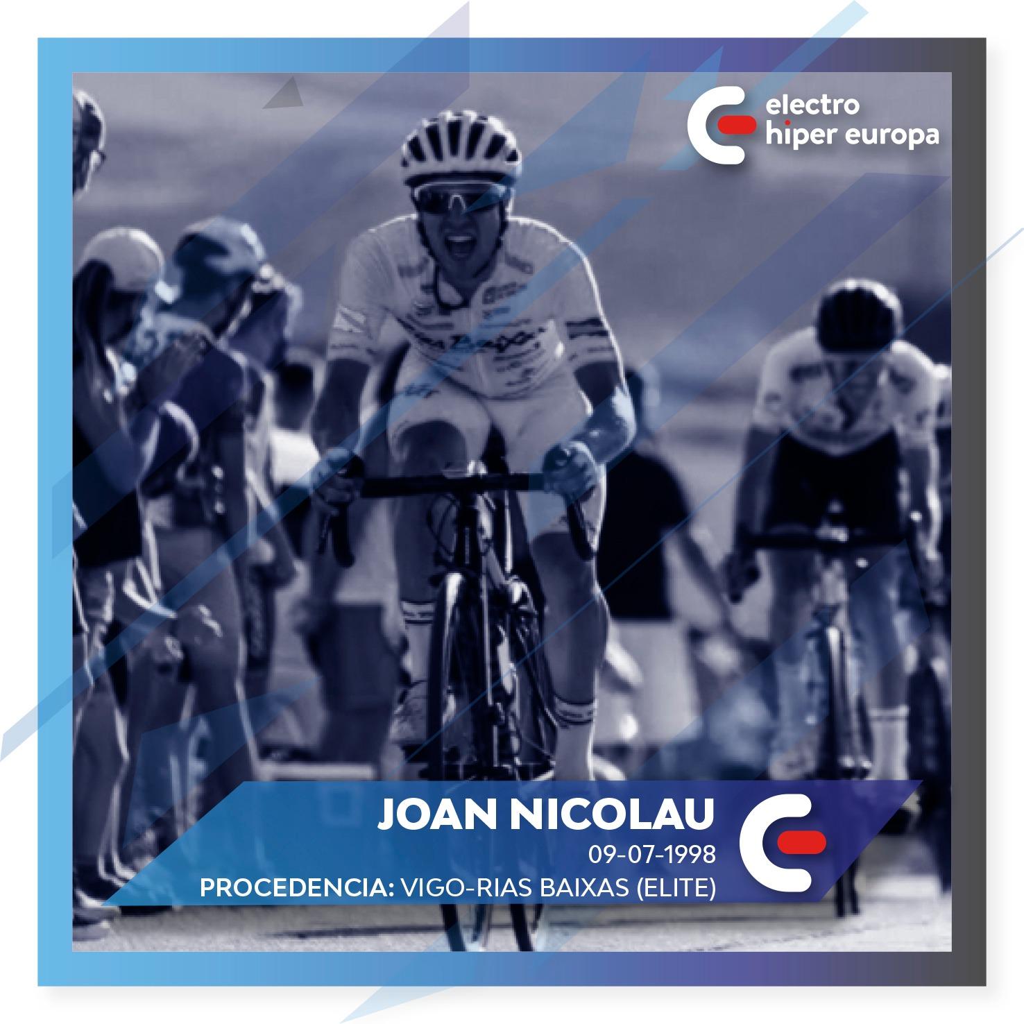 Joan Nicolau Electro Hiper Europa