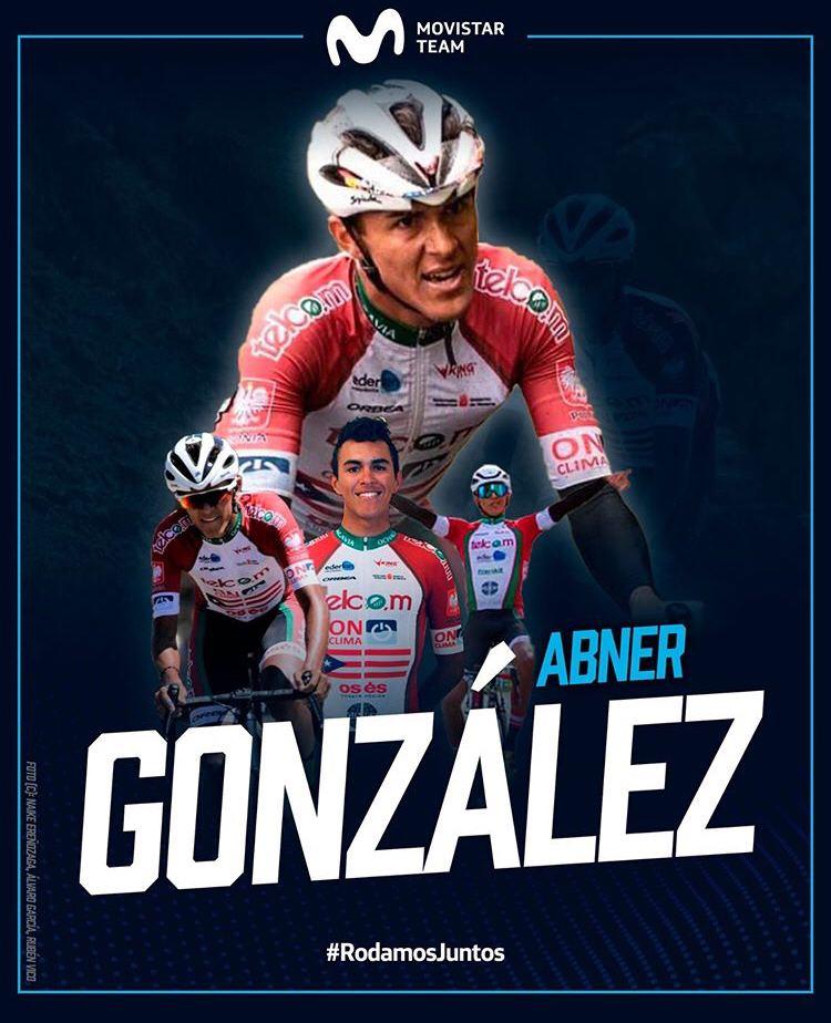 Abner González Movistar Team