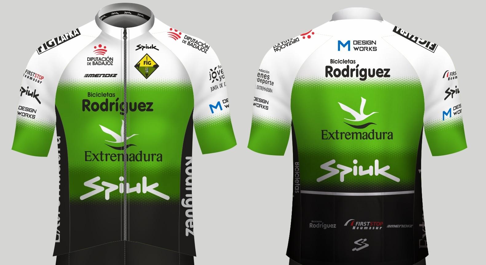 Maillot Bicicletas Rodriguez Extremadura 2021 Spiuk