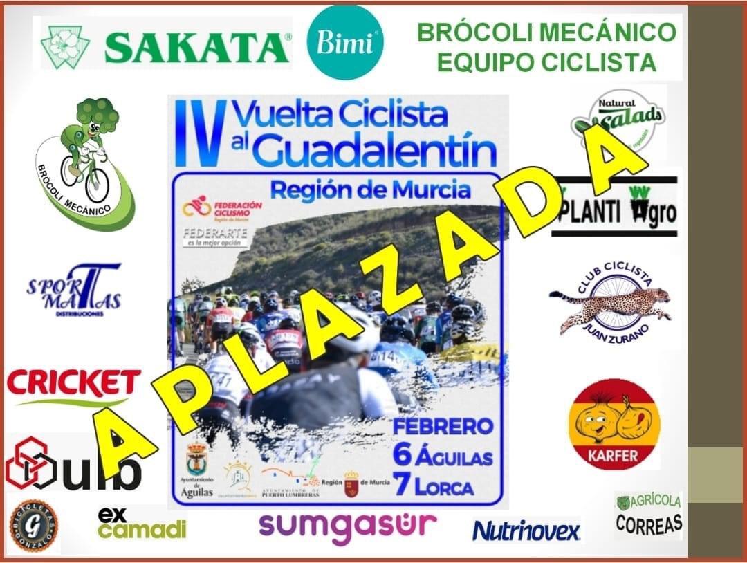 Aplazada Vuelta Guadalentín