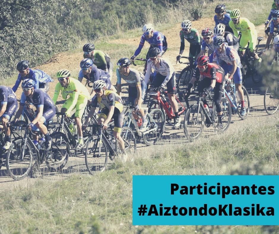 Participantes Aiztondo Klasika 2021