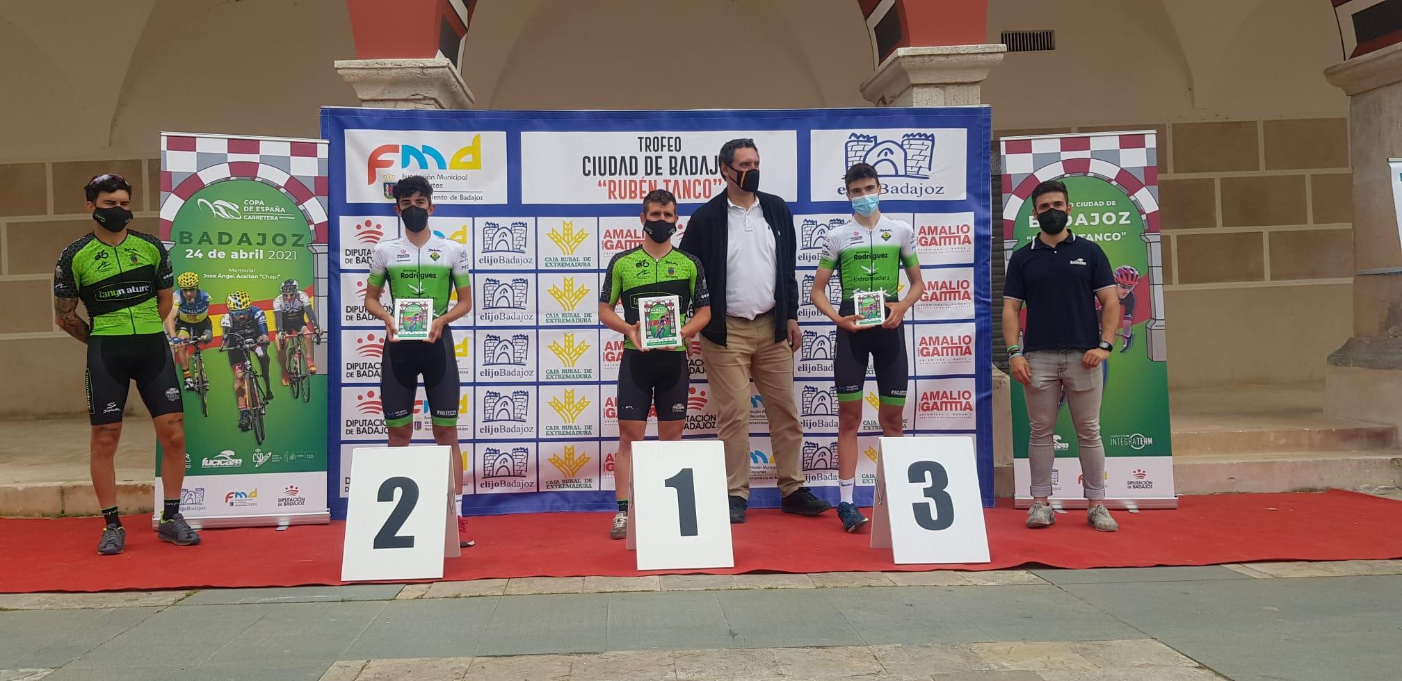 Podium Trofeo Ciudad de Badajoz