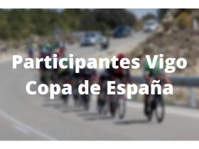 Participantes Vigo Copa de España