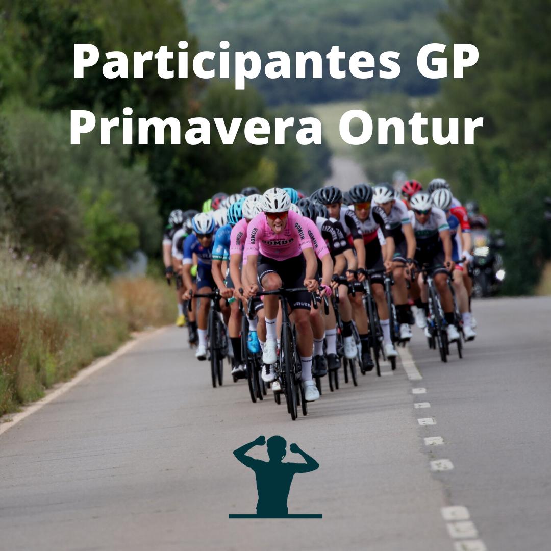 Imagen para los participantes del GP Primavera Ontur de Ciclismo ElPelotón