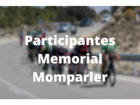 Participantes Memorial Momparler