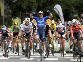 Cavendish celebra su 31º triunfo en el Tour de Francia (Foto: letour.fr)