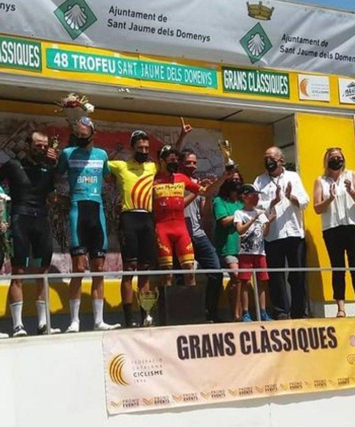 Podium del 48 Trofeo Baix Penèdes