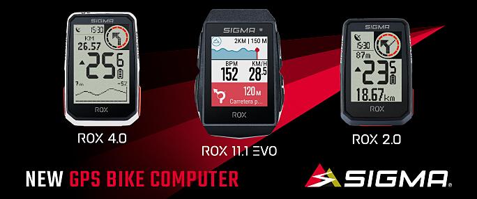SIGMA Rox 4.0 Rox 11.1 EVO Rox 2.0 GPS Computer