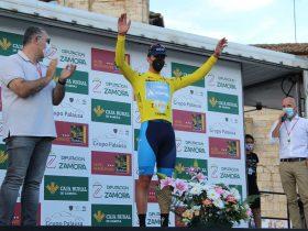 Rus de amarillo en la primera de Vuelta a Zamora 2021