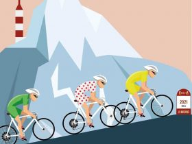 Cartel Vuelta a la Comunidad de Madrid 2021