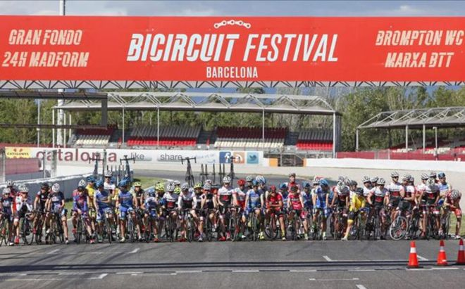 Imagen del Bicircuit Festival de Cataluña