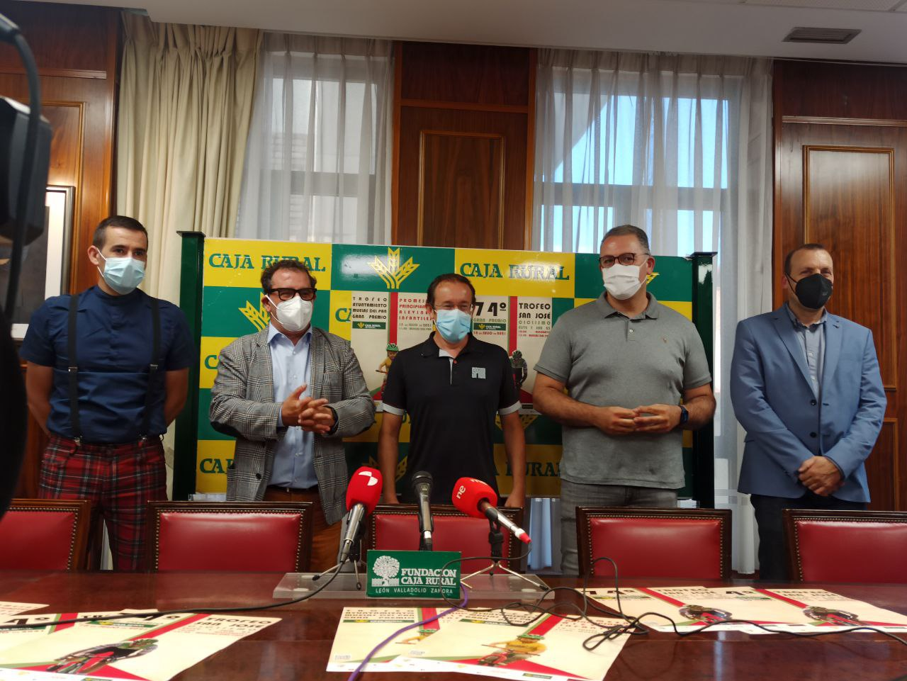 Presentación Trofeo San José GP Caja Rural