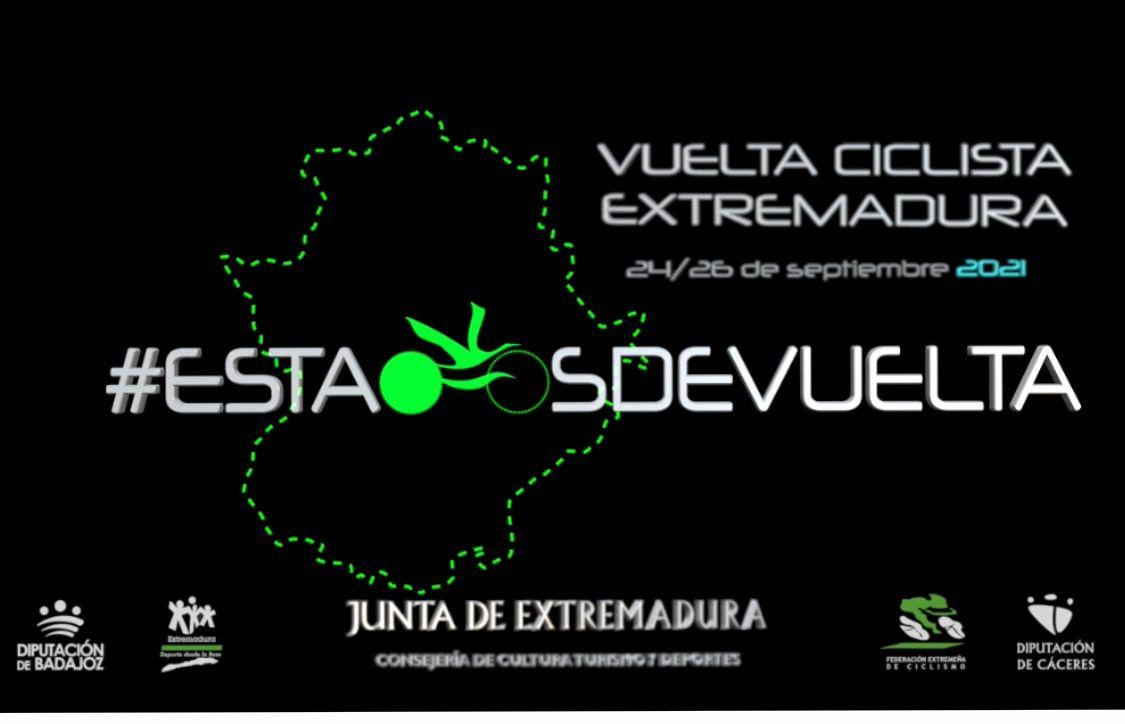 Cartel Vuelta Extremadura 2021