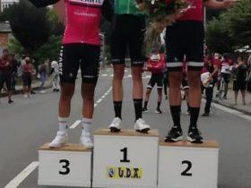 Calum Johnston quedó en lo más alto del podium del Euskal Bailarak Kriteriuma