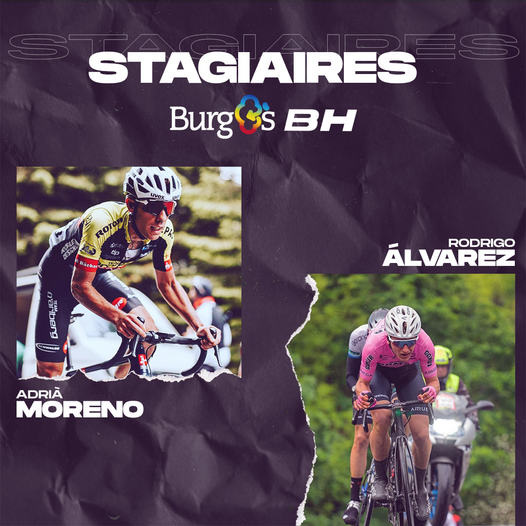 Stagiaires Adria Moreno Rodrigo Álvarez Burgos BH